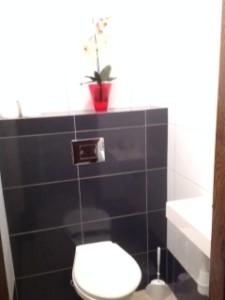 WC na III piętrze - korytarz
