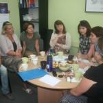 Seminarium przygotowawcze. Spotkanie w Polskim Centrum Mediacji (oddział w Sopocie)