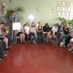 Warsztaty w Łutugino. Prezentacja