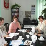 Seminarium przygotowawcze. Spotkanie w  ZSO nr 1 w Pruszczu Gdańskim